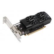 Видеокарта MSI GeForce GTX 1050 Ti 1290Mhz PCI-E 3.0 4096Mb 7008Mhz 128 bit DVI HDMI HDCP GTX 1050 Ti 4GT LP