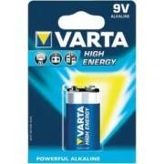 Baterie Alcalina Varta High Energy Blister 9V