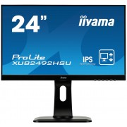 "Monitor IPS, IIYAMA 23.8"", ProLite XUB2492HSU-B1, FlickerFree, 5ms, 5Mln:1, HDMI/DP, Speakers, FullHD"
