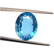 7.75 Ratti IGL Certified Blue Topaz Nice Oval cut - Ceylon Sapphire