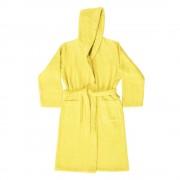 Bassetti Accappatoio UNISEX con cappuccio Bassetti Pop Color - giallo limone Y1