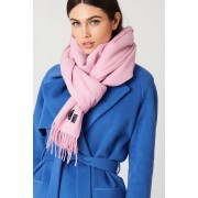 Gestuz Cross Scarf - Scarves - Pink