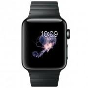 Apple Watch Series 2 38mm Stainless Steel Case Black Link Bracelet Negru