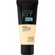 Maybelline Sjednocující make-up s matujícím efektem Fit Me! (Matte & Poreless Make-Up) 30 ml 130 Buff Beige