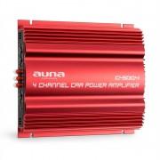 auna C500.4 Amplificatore Finale Auto a 4 Canali 4 x 65 RMS
