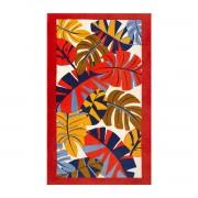 Olivier Desforges - Serviette de plage 450 g/m² 100 x 170 cm Multicolore - Borneo