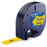 Lettertape Dymo LetraTag S0721620 (91202) tape 12mm x 4m (origineel)