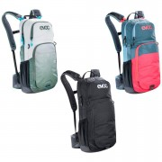 Evoc CC 16L Backpack and 2L Bladder - White/Green