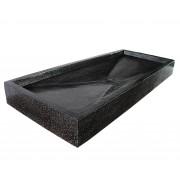 Saniteck Grand plan vasque noir