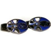 Blacksmithh Metal Cufflink(Blue)