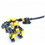 Building Blocks Mecha Series - Little Robot Assault Team Assembled Toys Seller s Original Design Building Sets & Fit For Lego Parts - Quickstrike ˆBuilding blocks-87pcs by Ye's Buiding Sets From Seller Design
