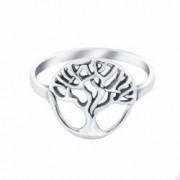 Inel din argint The Tree - 6