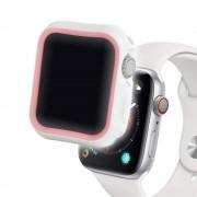 Case Apple Watch 4 44mm Devia Dazzle Series White & Pink