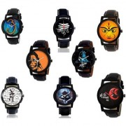 GenZ CO8-0007 Bestselling Gift Set of Religious Analog Watches For Men