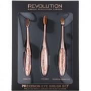 Makeup Revolution Pro Precision Brush set de brochas para ojos 3 ud