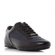 Hugo Boss Racing Mixed Material Lace Up Trainers