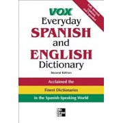 Vox Everyday Spanish and English Dictionary: English-Spanish/Spanish-English, Paperback/Vox