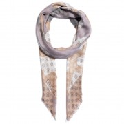 Кърпа GUESS - Digital (Sp) Scarves AW8474 MOD03 WHI