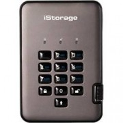 iStorage 500 GB Portable Encrypted Hard Drive diskAshur PRO2 USB 3.1 Black, Graphite