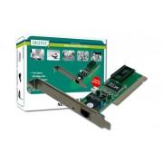SCHEDA AGGIUNTIVA DI RETE PCI 10/100 RJ45 FUNZIONE WOL (WAKE ON