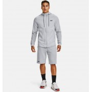 Under Armour Men's UA Double Knit Full-Zip Hoodie Gray MD