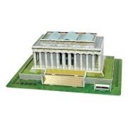 Explora Puzzle Lincoln Memorial Playset - U.S.A (41 Piece)