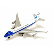 Boeing 747, White Gray - Motor Max 77000DT/B5 - Diecast Model Toy Car (Brand New but NO Box)