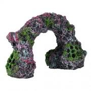 Underwater Treasures Underwater tesoros 65224-Mini Rock Arch Acuario Ornamento