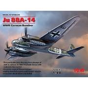 ICM Models ICM JU 88A-14 WWII German Bomber Model Kit (1/48 Scale)
