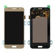 Samsung Galaxy J5 2015 LCD + Touchscreen - Goud voor Samsung Galaxy J5 SM-J500F