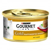 Gourmet Gold Tartelette 24 x 85 g - Pack Mixto II (Buey y pollo)