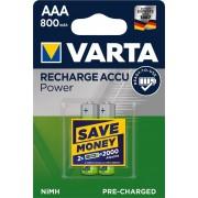 Baterija Varta Longlife Accu HR03 800mAh bli2 **