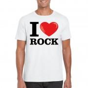 Shoppartners I love rock t-shirt wit heren