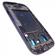 Frame ou carcaça intermédia Samsung Galaxy SIII S3 i9300 roxa