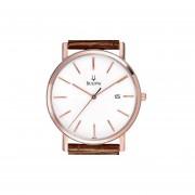 Reloj Bulova 96b104 Essencial -Marron Con Dorado