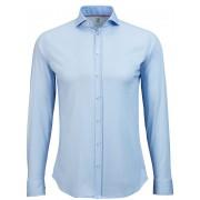 Desoto Hemd Bügelfrei Blau Oxford - Blau Größe L