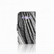 B2Ctelecom Book Style Case Samsung Galaxy Core 2 Boomschors Grijs