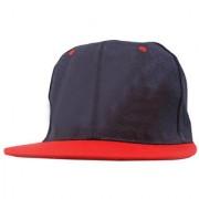 Black Plain Cotton Caps 75 B