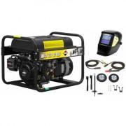 Pachet WAGT 220 DC BSB R26 Generator sudura + masca de sudura cristale lichide Spartan + kit de sudura +kit de roti