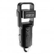 Platinet Car Charger Rotation USB 2 x USB 4.8A - зарядно за кола с два USB изхода (черен)