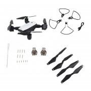 Plegable GPS Quadcopter aviones de cuatro ejes con cámara HD 1080P avi