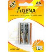 Baterije Agena punjive R6 AA 2200mAh B2