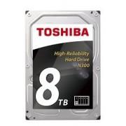 "Toshiba N300 High-Reliability 8TB 7200rpm 3.5"" SATA NAS Hard Drive"
