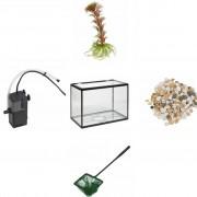Fish Compleet aquarium set 18 liter (5 delig)
