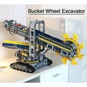 Generic LEPIN 20015 Technic Bucket Wheel Excavator 3929Pcs Model Building Assemble Kit Building Blocks Bricks Toys Gift Compatible 42055