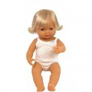 Baby european (fata) Papusa 38 cm