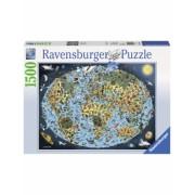 Puzzle Lumea Animata, 1500 Piese Ravensburger