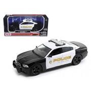 2011 Dodge Charger Pursuit San Gabriel Police Car 1/24 by Motormax 76936