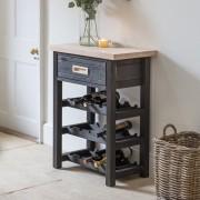 Notgrove Wijnkastje / Wijnrek voor 15 flessen met lade