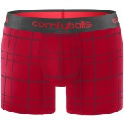 Comfyballs Red Checkered Cotton